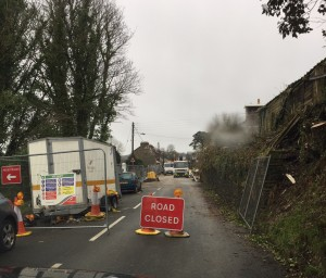 Foxdale Road Works 2