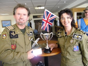 June 2011 – Geoffrey & Suzie winning the Ginger Lacey Trophy @ Sherburn in Elmet