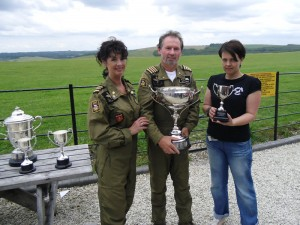 July 2011 – Geoffrey & Suzie receive the City Livery Trophy at Compton Abbas