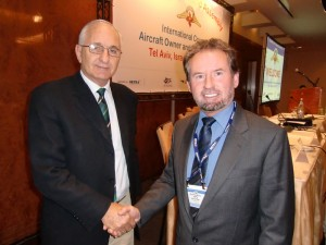 IAOPA World Assembly Israel 6-11 June 2010. Meeting with Giora Roma, Director of Israeli Civil Aviation Authority