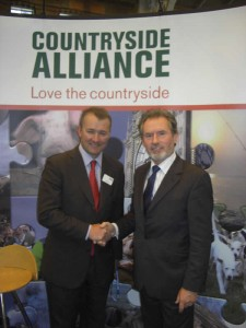Simon Hart, Chief Executive of the Countryside Alliance