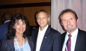 Geoffrey & Suzie with Grant Shapps MP Conservative Party Conference 2012