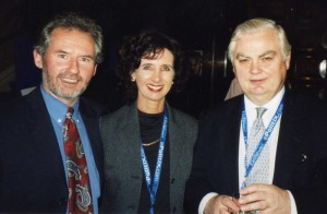 Geoffrey and Suzie meet Norman Lamont ex-Chancellor