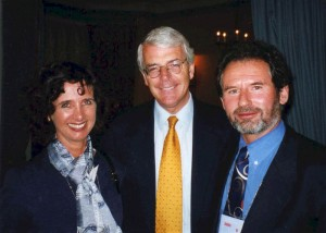 Geoffrey and Suzie with John Major